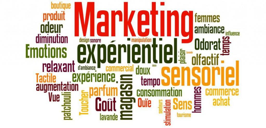 Nuage marketing expérientiel sensoriel et olfactif